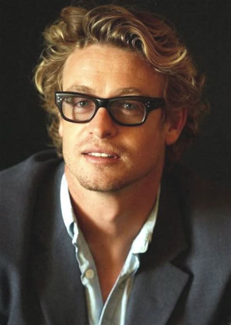 blond hair actor in the mentalist celebrity simon baker weight height and age