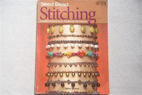 seed bead stitching techniques 7 best books for learning beadwork