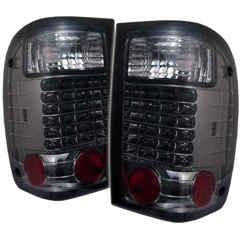 2000 ford ranger lights 1993 2000 ford ranger style led lights smoked