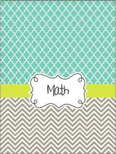 printable math binder covers free cute and classy binder cover sheets for printing