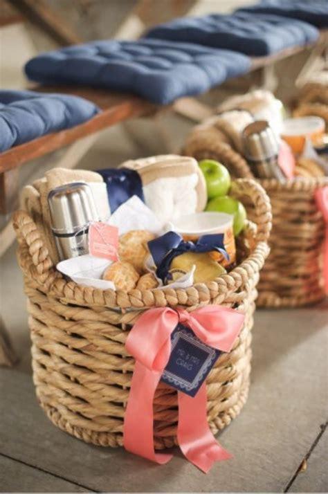 picnics bridesmaid gift baskets and basket ideas on