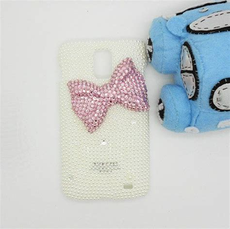 Handmade hard case for samsung infuse 4g bling pink diamond bow