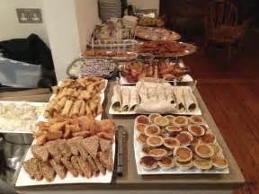 wedding cold buffet food ideas