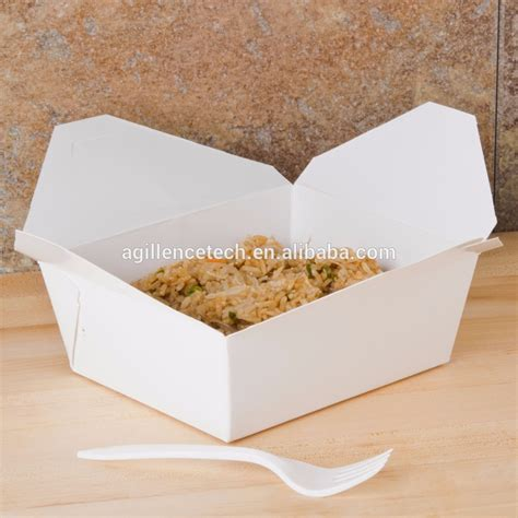 Simple Lunch Box simple design take out food container disposable custom