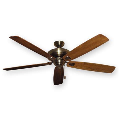 antique brass ceiling fan antique brass 750 series 72 quot tiara ceiling fan by gulf