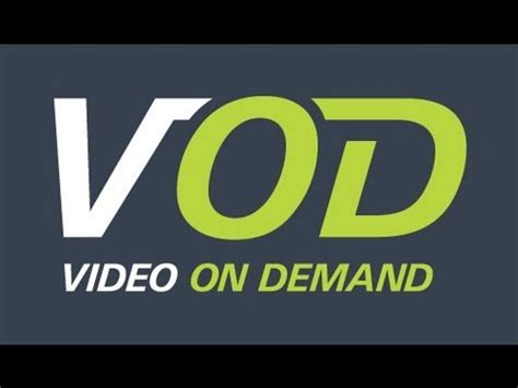 on demand was ist vod video on demand youtube