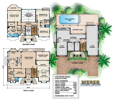 house plan 175 1070 3 bedroom 3938 sq ft coastal