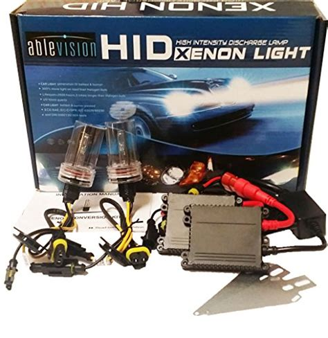 Bohlam Hid Xenon Single Beam H1 H7 H11 Hb3 Hb4 ablevision 55w hid xenon conversion kit slim ac ballast
