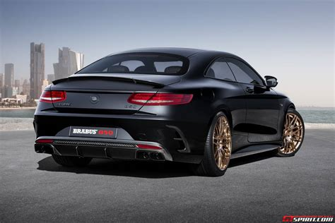 Brabus Mercedes by Tuningcars Official Brabus 850 Mercedes S63 Amg Coupe