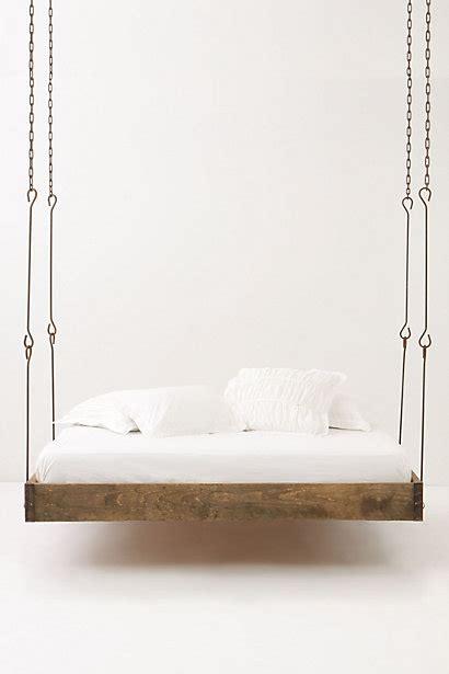 hanging bed anthropologie s barnwood hanging bed