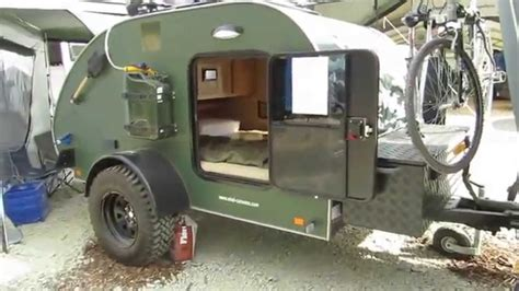 Diy Hard Floor Camper Trailer Plans abenteuer offroad 2014 mini caravan freerider youtube