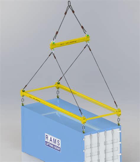 design lifting frame lifting beams frames and spreaders at rams