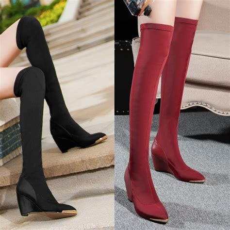 high heel shoe store erica s shoe store genuine leather knee high boots