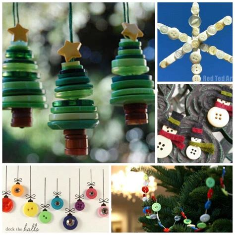 christmas button craft ideas including button gift ideas