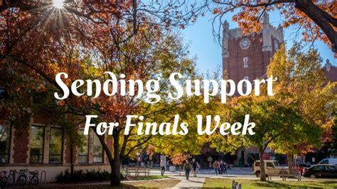 ou it help sending support for finals week ou parents