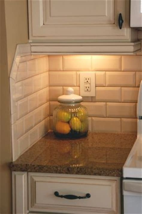 25 best ideas about beveled subway tile on
