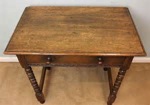 antique oak side table antiques atlas