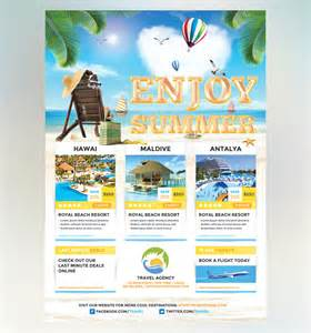 travel agency flyer redpencilmedia