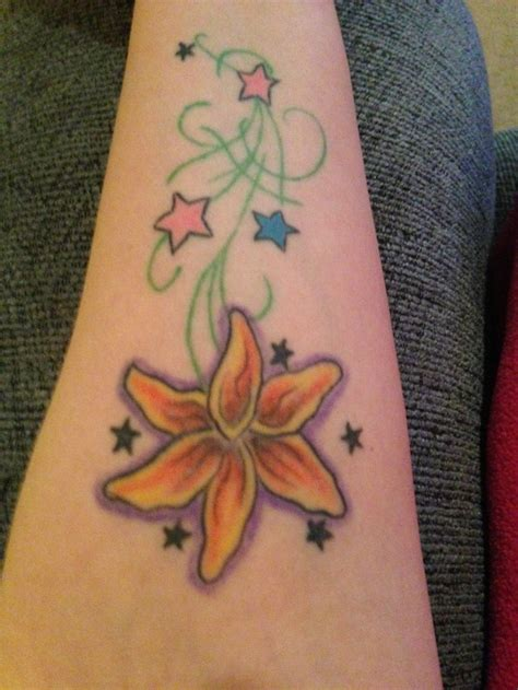flower and stars tattoo designs 8 best tattoos tattoos for images