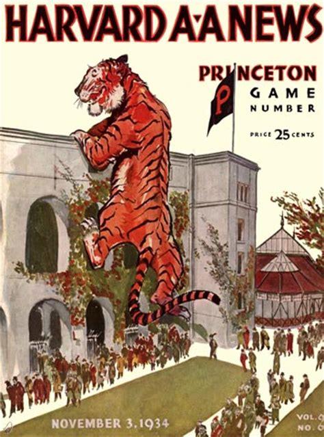 princeton colors princeton vintage college football programs