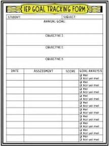 tracking student progress template iep annual goals and objectives tracking sheet progress