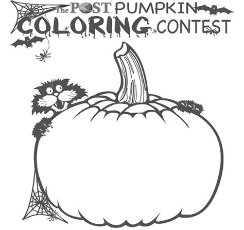 halloween coloring contest cedar springs post newspaper