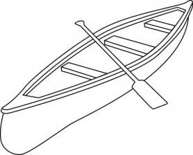 Kayak Clipart Black And White Canoe Clip Art Related Keywords  sketch template