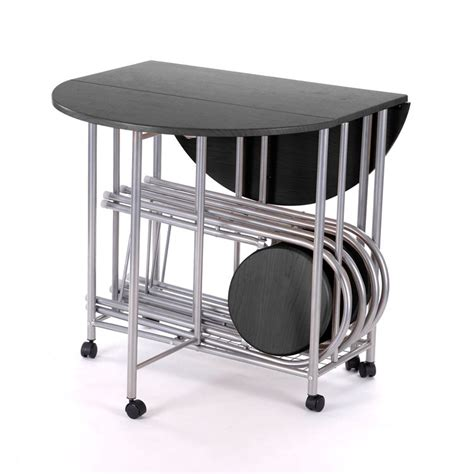 folding kitchen table and chairs set product description