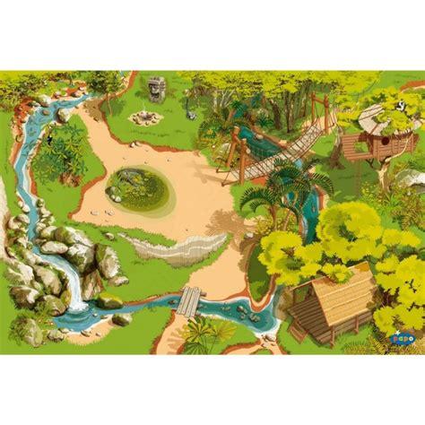Tapis De Jeu Playmobil by Tapis De Jeu La Jungle Jeux Et Jouets Papo Avenue Des Jeux