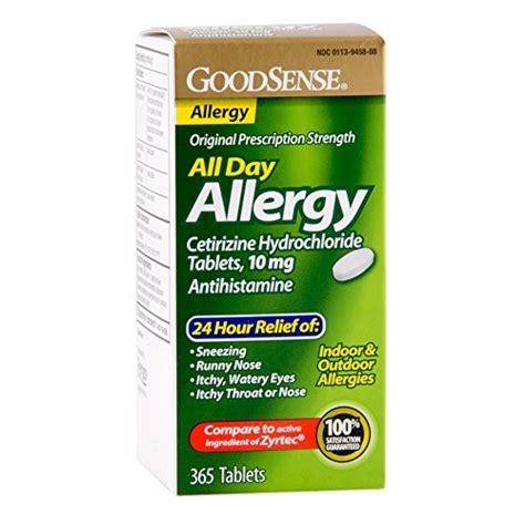 Obat Cetirizine Hcl 10 Mg goodsense all day allergy cetirizine hcl tablets 10 mg