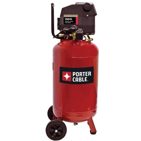 vertical air compressor porter cable 20 gal vertical portable electric air