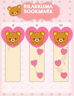 tutorial gambar rilakkuma t t s little projects tutorial pembatas buku quot rilakkuma quot