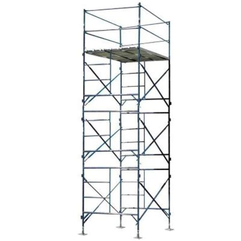 werner 6 ft steel rolling scaffold 1000 lb load capacity