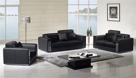 Black L Tables For Living Room Fabio Modern Living Room Set