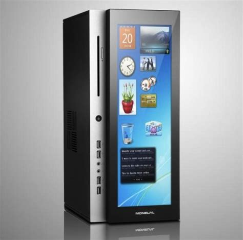 Ces 2007 Enclose Your Gadgets In Inclosia by Moneual Dual Screen Pc For Multimedia Pc Xcitefun Net