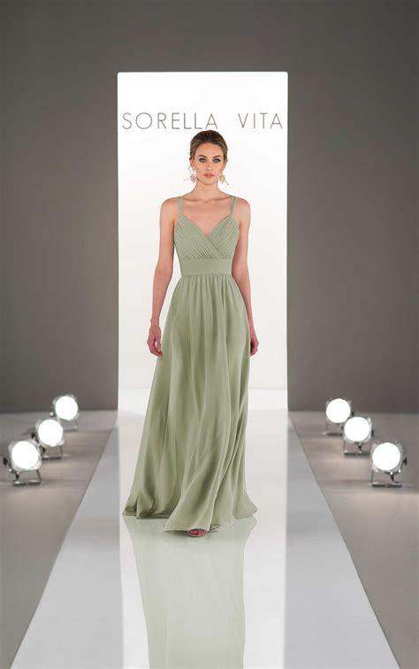 dream bridesmaid dress  ruched bodice sorella vita