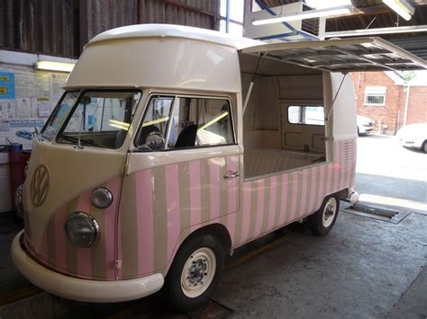 volkswagen kombi food truck remodelled kombi ice cream truck love the neapolitan