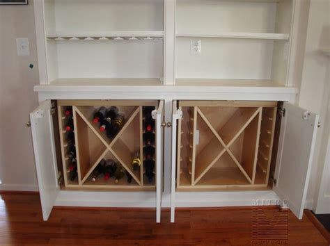 Built In Cabinet Wine Rack by Built Ins Built In Cabinet Wine Rack Inserts Wine Rack