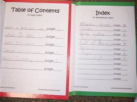 glossary template table of contents template for www imgkid the