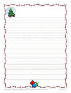 Free Christmas Writing Paper Christmas Writing Paper For Kids Free Printable Template