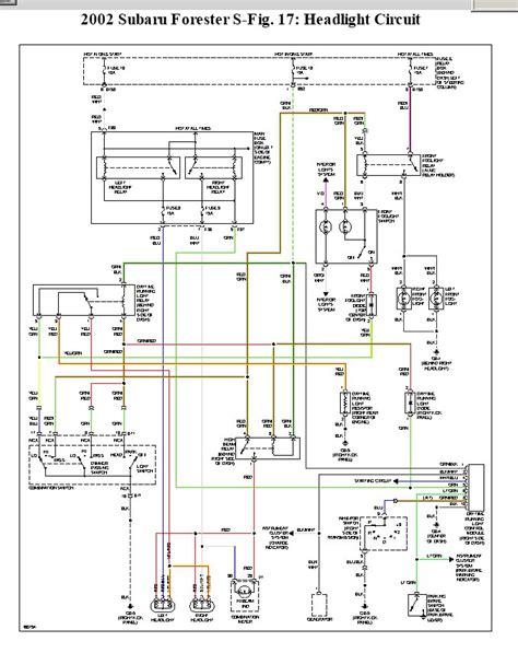 2002 subaru forester wiring diagram 1999 subaru forester