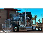 Indian Airbrush Skin For SCS Kenworth W900 Mod