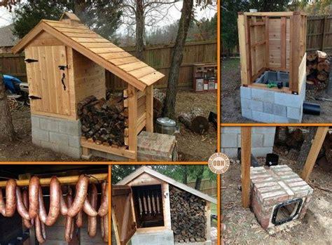 backyard smokehouse back yard diy meat smoker