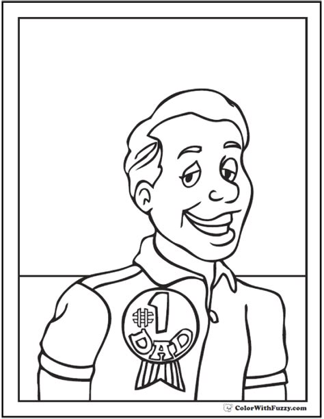 father s day coloring pages 1 dad day