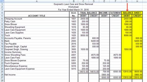 Excel Formula Credit Debit Balance Project 2