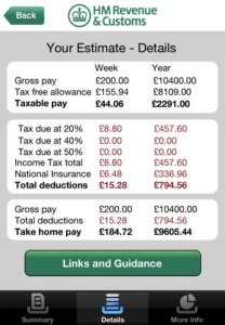 Hmrc National Insurance Letter X Hmrc Tax Calc Works Out Your Tax For You Uk Users Only From Softwarecrew Software Reviews