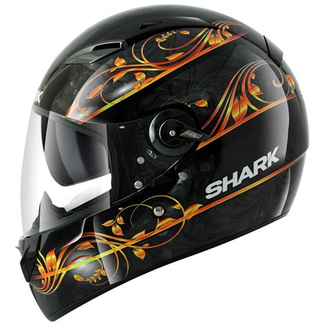 2013 Shark Vision R Divine Ladies Womens Motorcycle Crash