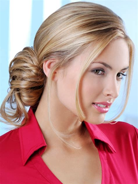 Women's Hairstyles: Easy Loose Updos Hairstyles For Work 2015, simple hairstyles work, easy