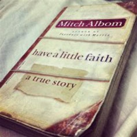 A Faith A True Story a faith a true story by mitch albom