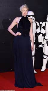 gwendoline christie is a commanding gwendoline christie at star wars the force awakens